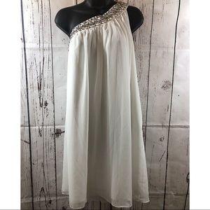 ❤️Calvin Klein white off shoulder dress